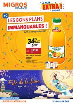 Promos de Migros France dans le prospectus à Migros France ( 3 jours de plus)