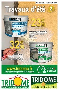 Promos de Tridôme dans le prospectus à Tridôme ( 7 jours de plus)