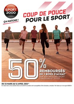 Sport 2000 coupon ( Expiré )