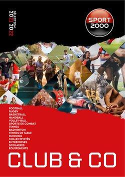 Promos de Sport dans le prospectus à Sport 2000 ( Plus d'un mois)
