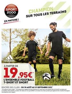 Sport 2000 coupon ( 3 jours de plus)
