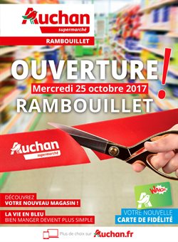 auchan supermarch centre commercial la louvi re rambouillet promos et horaires. Black Bedroom Furniture Sets. Home Design Ideas