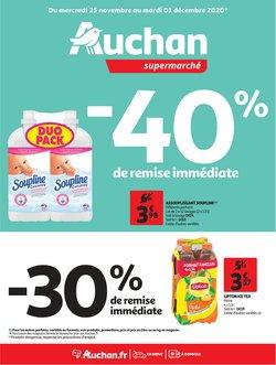 Auchan Supermarché coupon ( Publié hier )