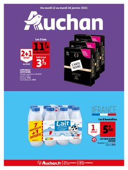 Auchan Supermarché coupon ( 10 jours de plus )