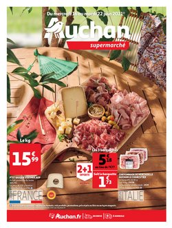 Promos de Hyper-Supermarchés dans le prospectus à Auchan Supermarché ( Expire demain)