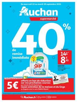 Auchan Supermarché coupon ( 3 jours de plus)