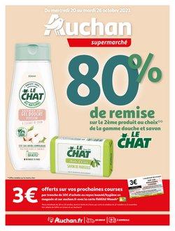 Promos de Hyper-Supermarchés dans le prospectus à Auchan Supermarché ( 2 jours de plus)