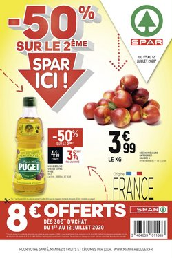 Spar coupon ( Expire demain )