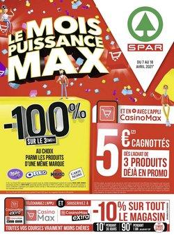 Spar coupon ( Nouveau )