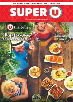 Super U Catalogue Et Promos Aout 2019
