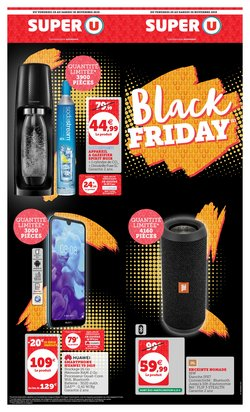 Offres Super U Black Friday