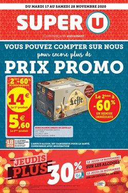 Promos de Hyper-Supermarchés dans le prospectus de Super U à Toulouse ( 4 jours de plus )