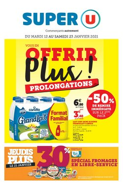 Super U coupon à Paris ( 7 jours de plus )