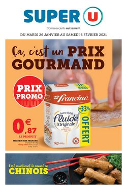 Promos de Hyper-Supermarchés dans le prospectus de Super U à Fréjus ( Nouveau )