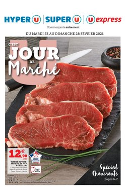 Super U coupon ( 2 jours de plus )