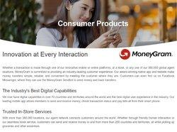 Promos de MoneyGram dans le prospectus à MoneyGram ( Expire ce jour)