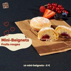 Promos de Restaurants dans le prospectus à Boulangerie Louise ( Publié hier)