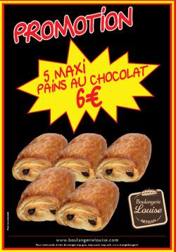 Promos de Boulangerie Louise dans le prospectus à Villeneuve-d'Ascq