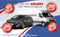 Promos de France Cars dans le prospectus à Nice