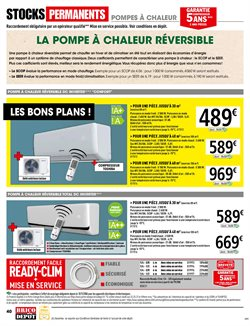 Promos de Air conditionné dans le prospectus de Brico Dépôt à Paris