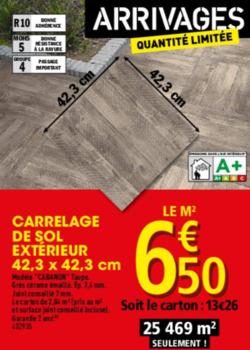Brico d p t lieu dit les chesnez rn 6 perrigny yonne for Brico depot maubeuge carrelage