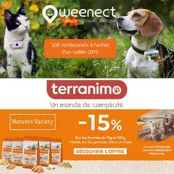 Promos de Jardineries et Animaleries dans le prospectus à Terranimo ( 2 jours de plus)