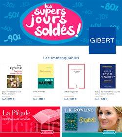 Promos de Librairies dans le prospectus à Gibert Joseph ( 4 jours de plus )