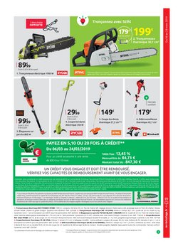 Promos de Black & Decker dans le prospectus de Mr Bricolage à Paris