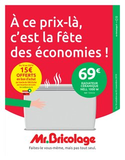 Catalogue Mr Bricolage