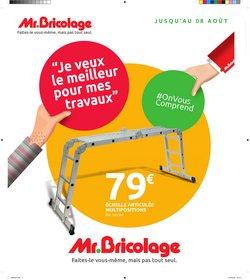 Promos de Bricolage dans le prospectus à Mr Bricolage ( 5 jours de plus)