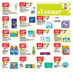 Promos de Pampers dans le prospectus de Leader Price à Paris