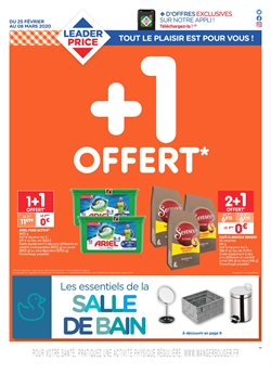 Leader Price coupon ( 9 jours de plus )