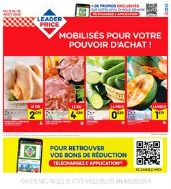 Leader Price coupon ( Publié hier )