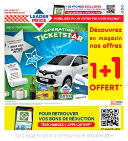 Leader Price coupon à Cergy ( Publié hier )