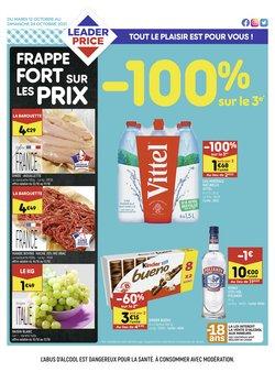 Promos de Hyper-Supermarchés dans le prospectus à Leader Price ( Expire ce jour)