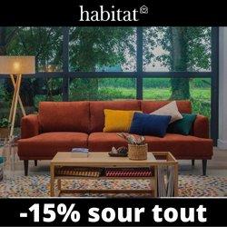 Promos de Habitat dans le prospectus à Habitat ( 8 jours de plus)