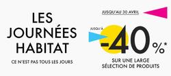 Promos de Habitat dans le prospectus à Paris