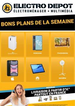 Promos de Multimédia et Électroménager dans le prospectus de Electro Dépôt à Avignon ( 13 jours de plus )