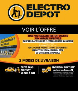 Electro Dépôt coupon ( Publié hier )