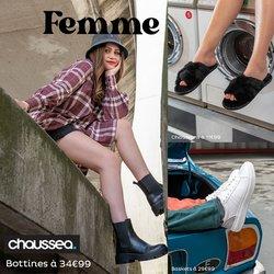 Promos de Vêtements et Chaussures dans le prospectus à Chaussea ( Expire ce jour)