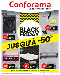 Offres Conforama Black Friday