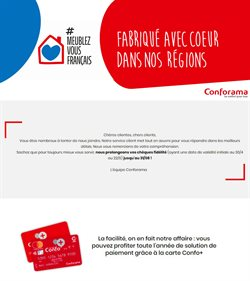 Conforama coupon à Paris ( Plus d'un mois )