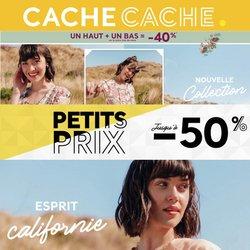 Promos de Cache Cache dans le prospectus à Cache Cache ( 4 jours de plus)