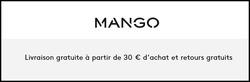 Promos de Mango dans le prospectus à Paris