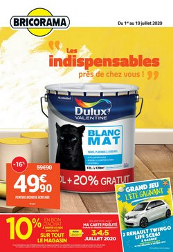 Bricorama coupon à Marseille ( 8 jours de plus )
