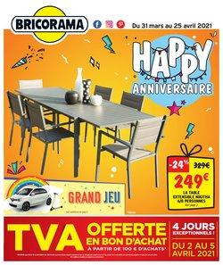 Bricorama coupon ( 4 jours de plus )