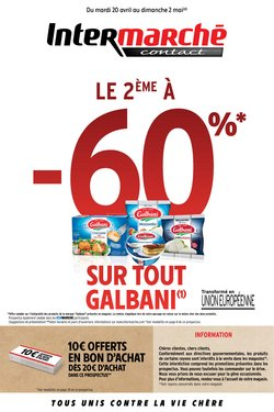 Intermarché Contact coupon ( 10 jours de plus )