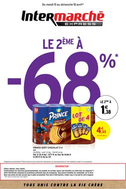 Intermarché Express coupon ( Il y a 2 jours )