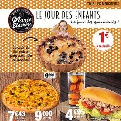 Promos de Restaurants dans le prospectus à Marie Blachère ( Publié hier)