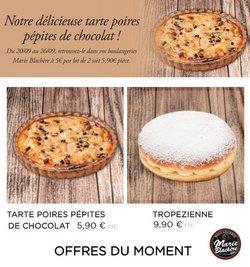 Promos de Restaurants dans le prospectus à Marie Blachère ( Expire ce jour)